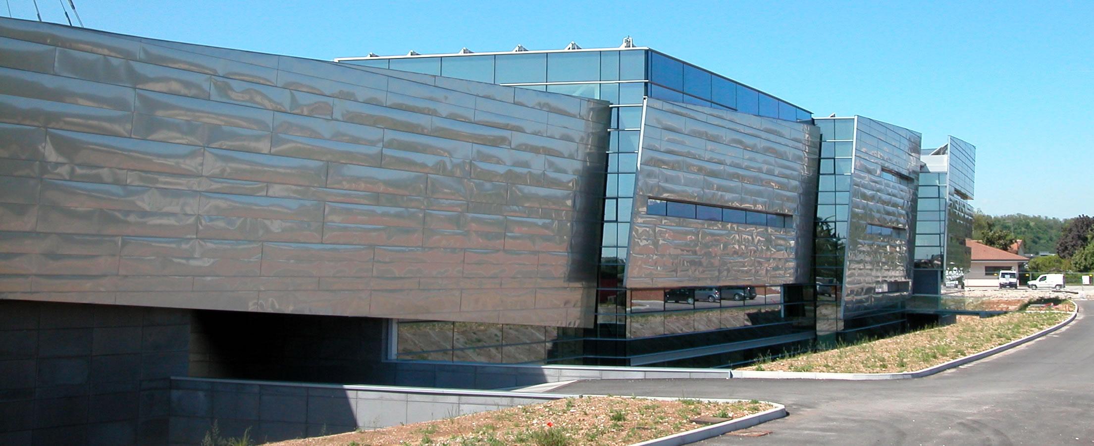 Di centa di ronco srl tetti coperture e rivestimenti for Piani di capannone per uffici esterni
